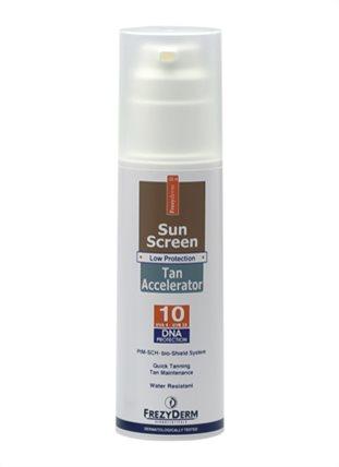 SUN SCREEN TAN ACCELERATOR SPF 10